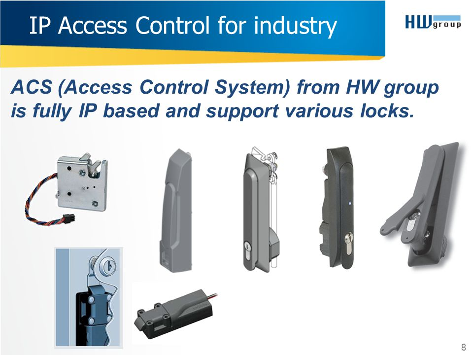IP Access Control for industry