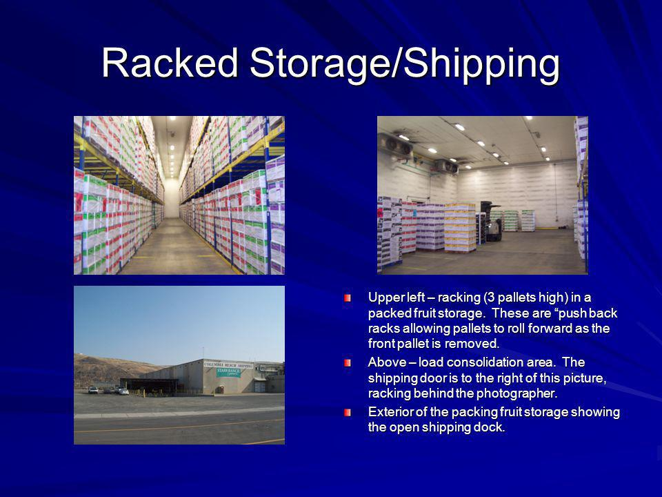 Racked Storage/Shipping