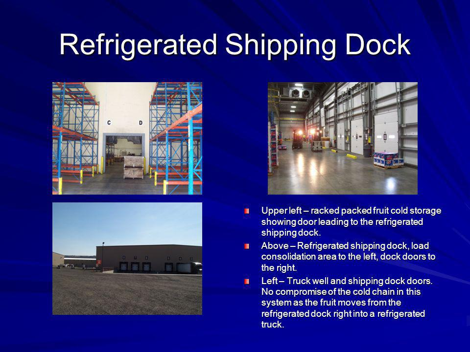 Refrigerated Shipping Dock