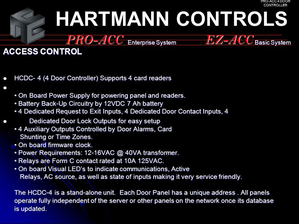 PRO-ACC 4 DOOR CONTROLLER