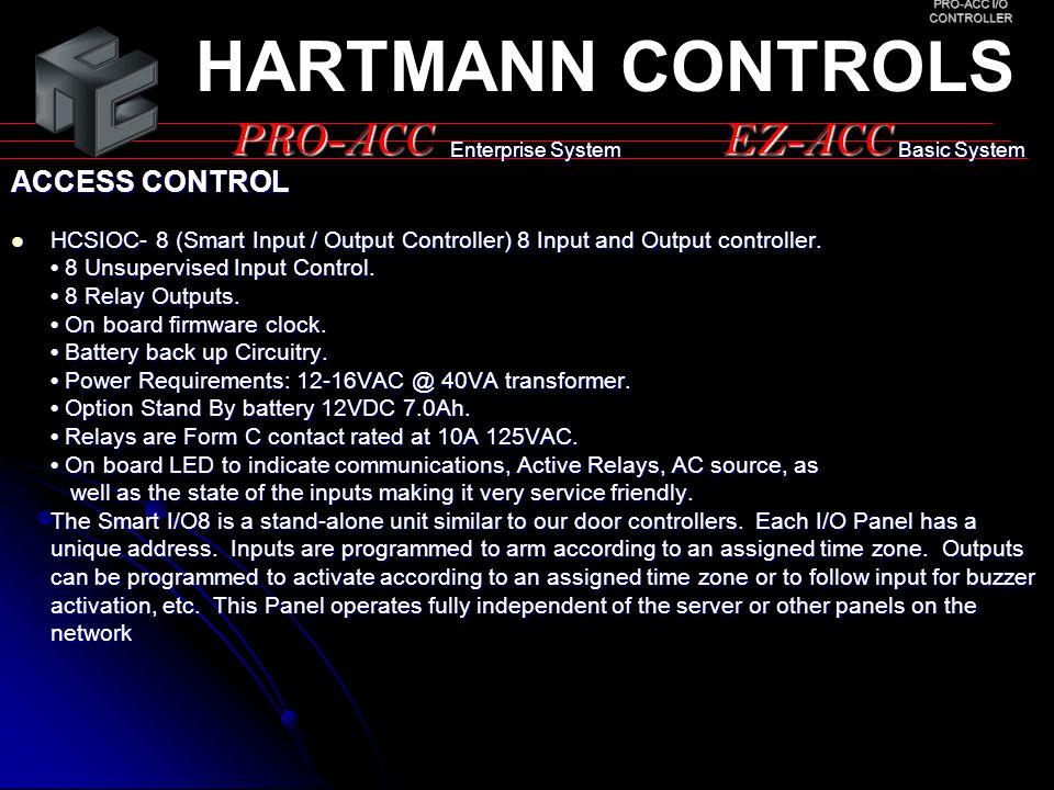 PRO-ACC I/O CONTROLLER