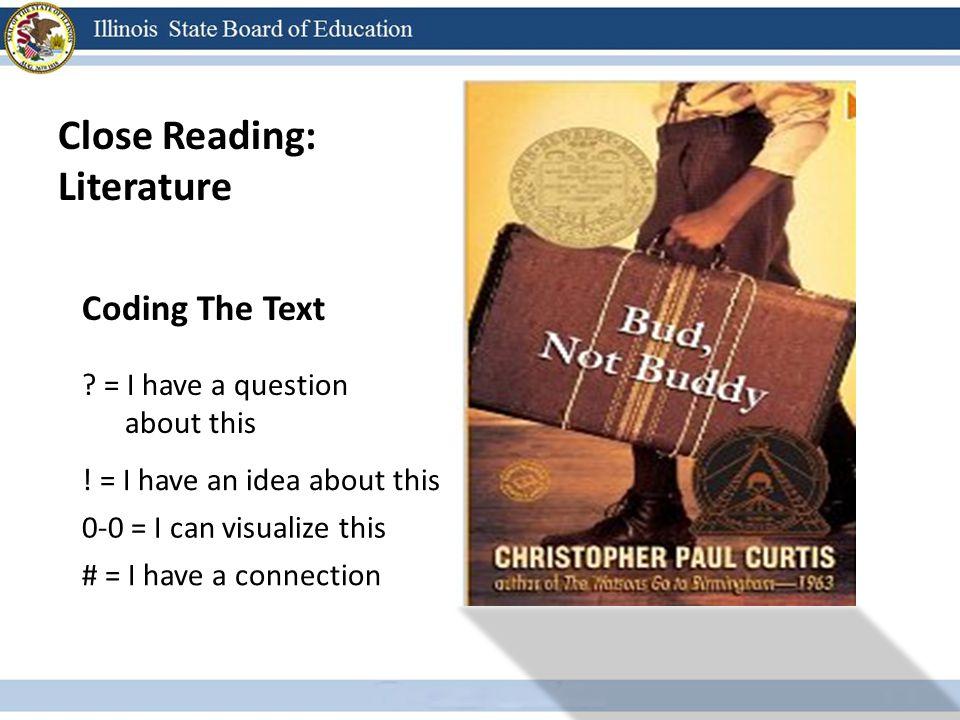 Close Reading: Literature