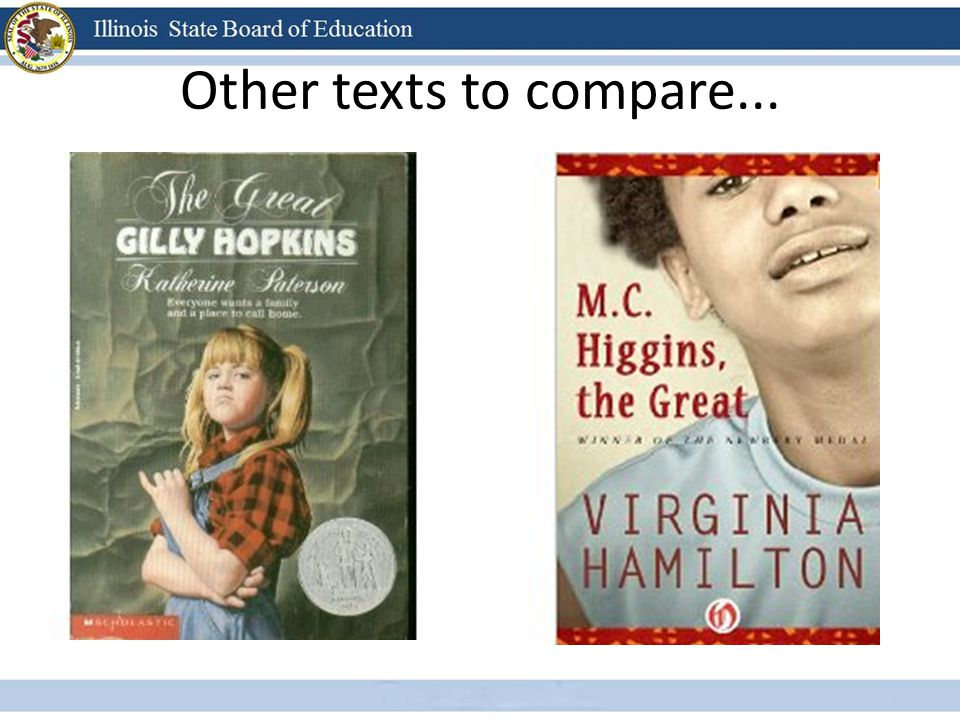 Other texts to compare...