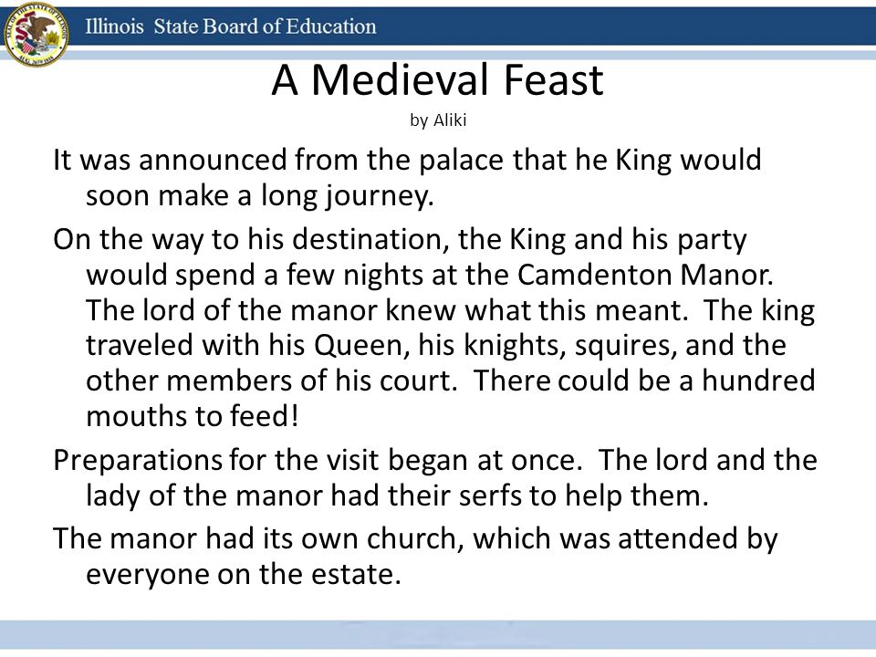 A Medieval Feast by Aliki