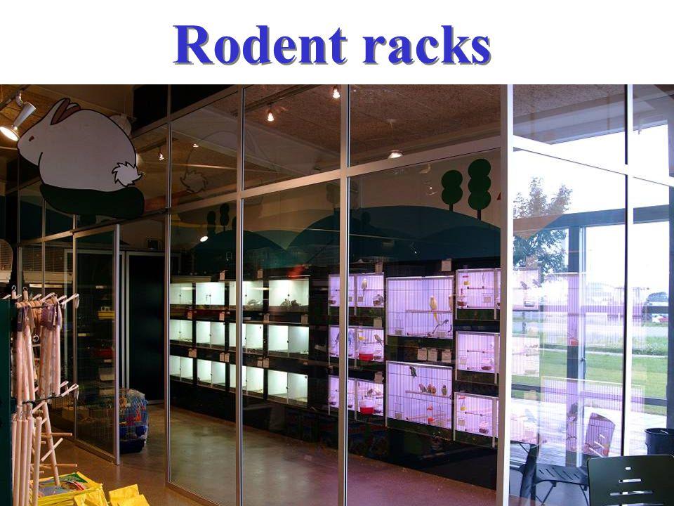 Rodent racks