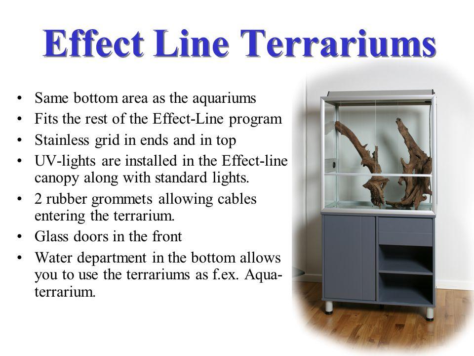 Effect Line Terrariums