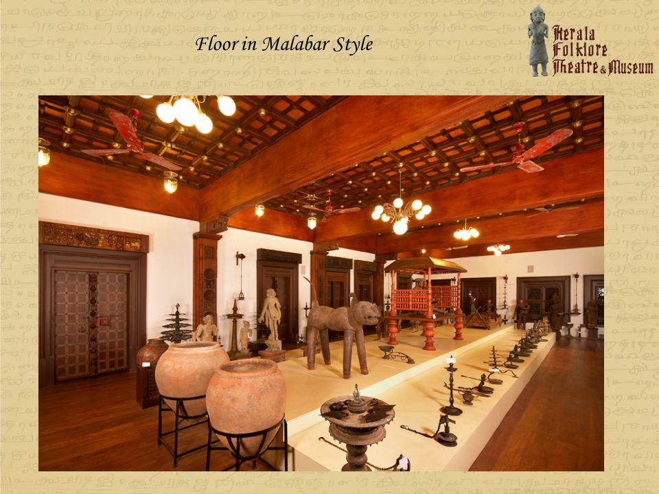 Floor in Malabar Style