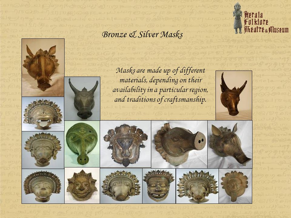 Bronze & Silver Masks