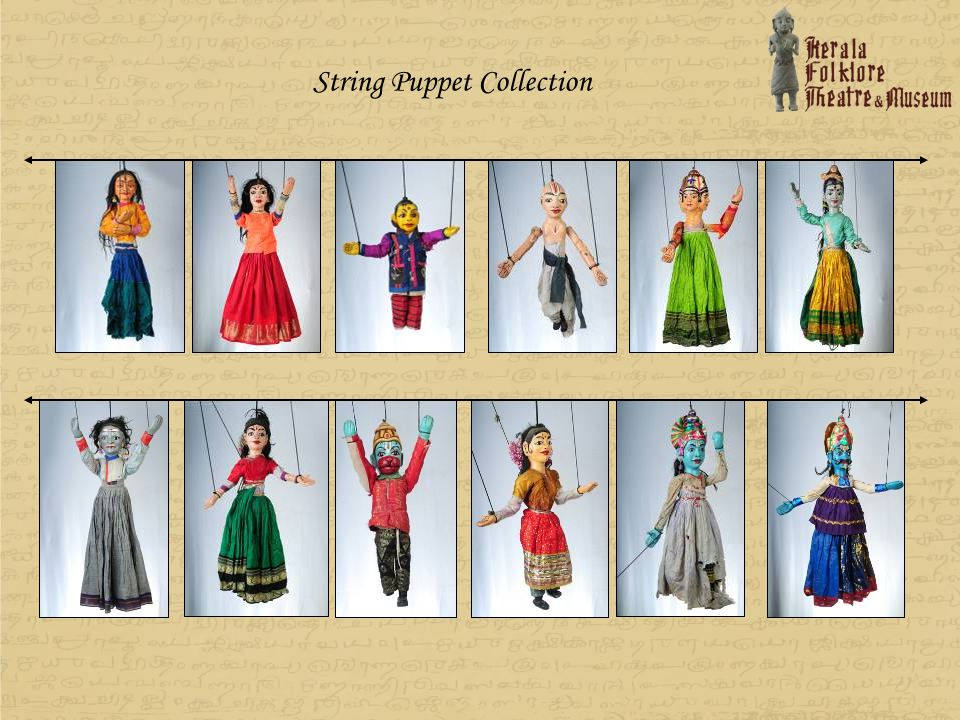 String Puppet Collection
