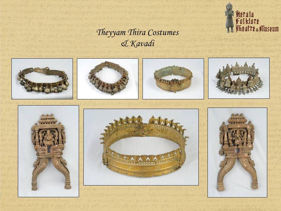 Theyyam Thira Costumes & Kavadi