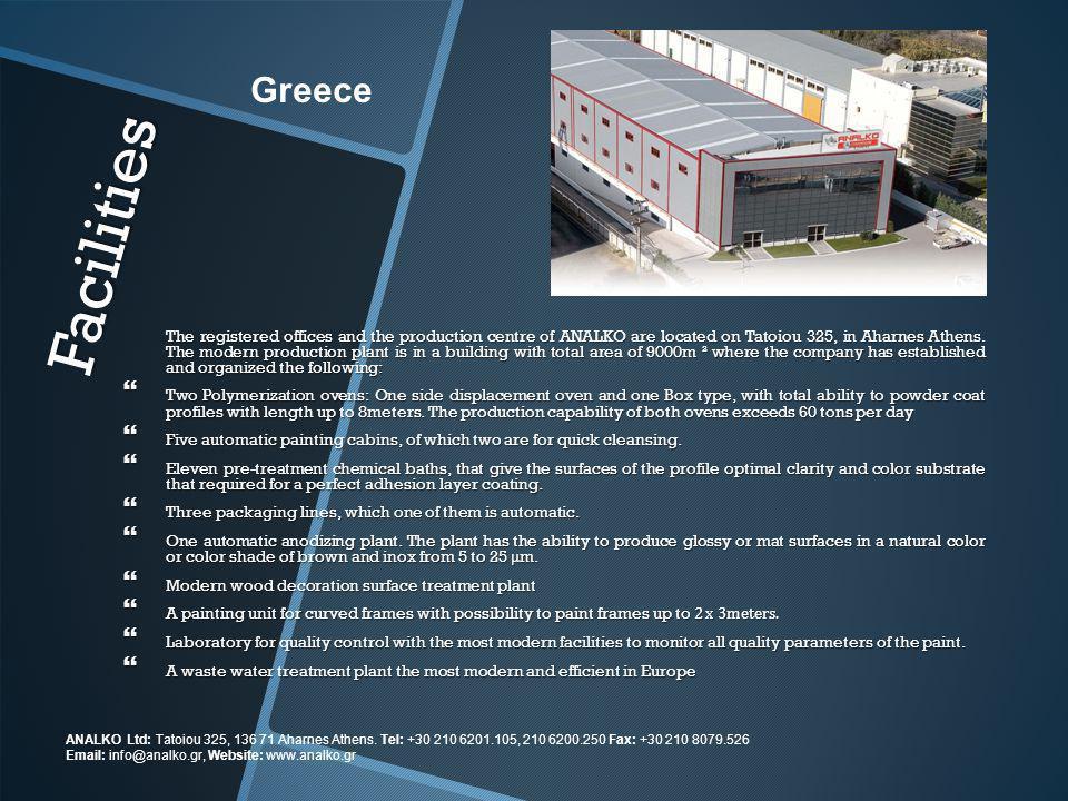 Greece Facilities.