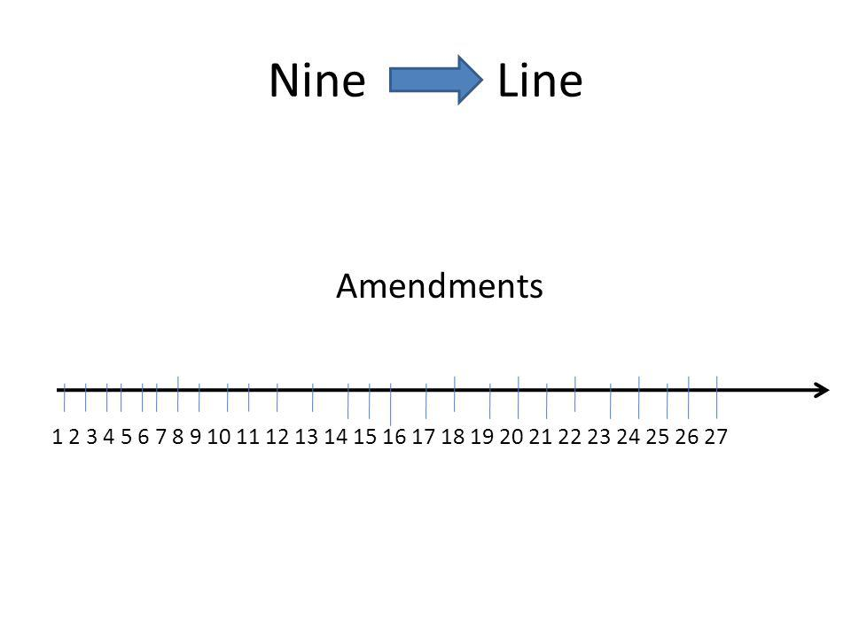 Nine Line Amendments.