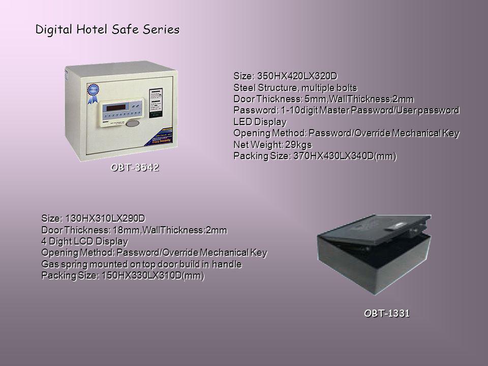 Digital Hotel Safe Series