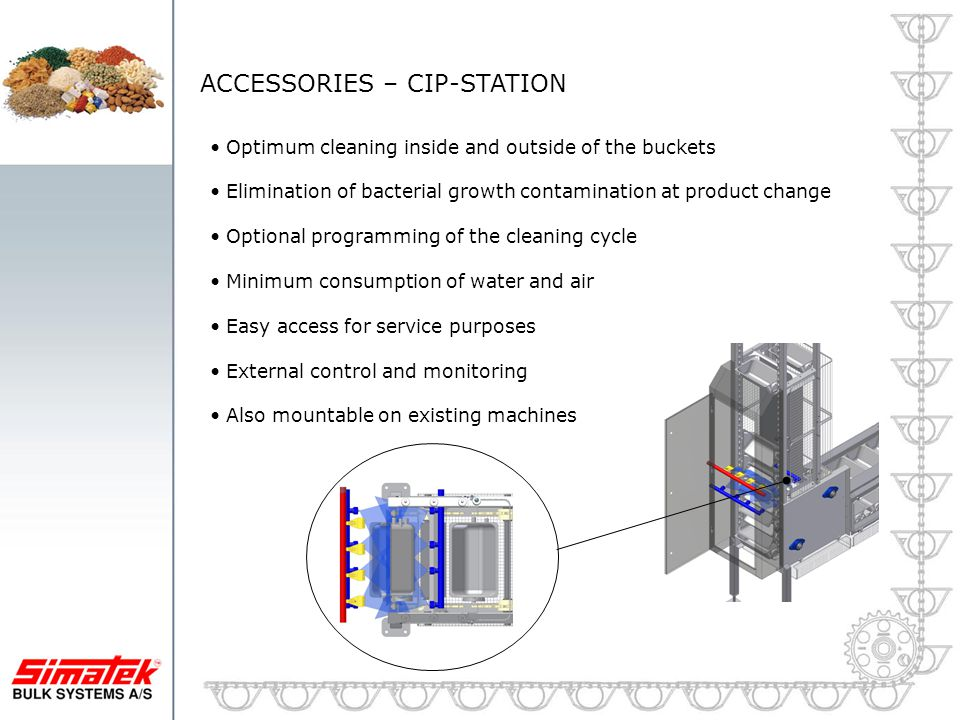 ACCESSORIES – CIP-STATION