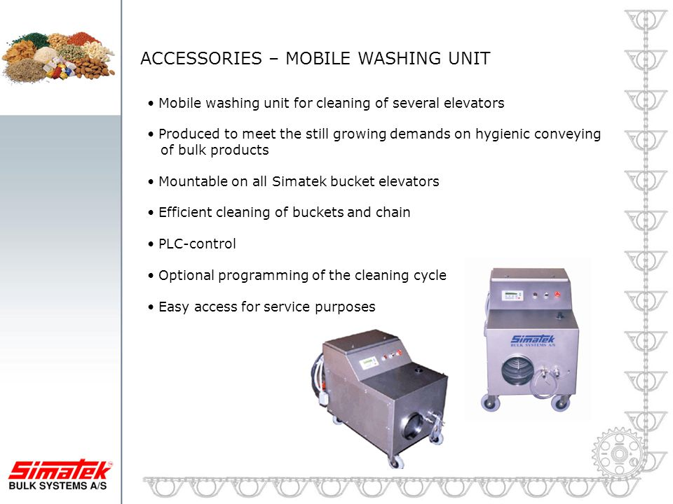 ACCESSORIES – MOBILE WASHING UNIT