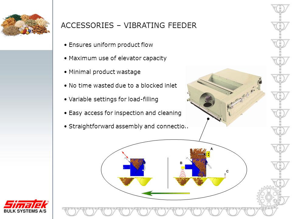 ACCESSORIES – VIBRATING FEEDER