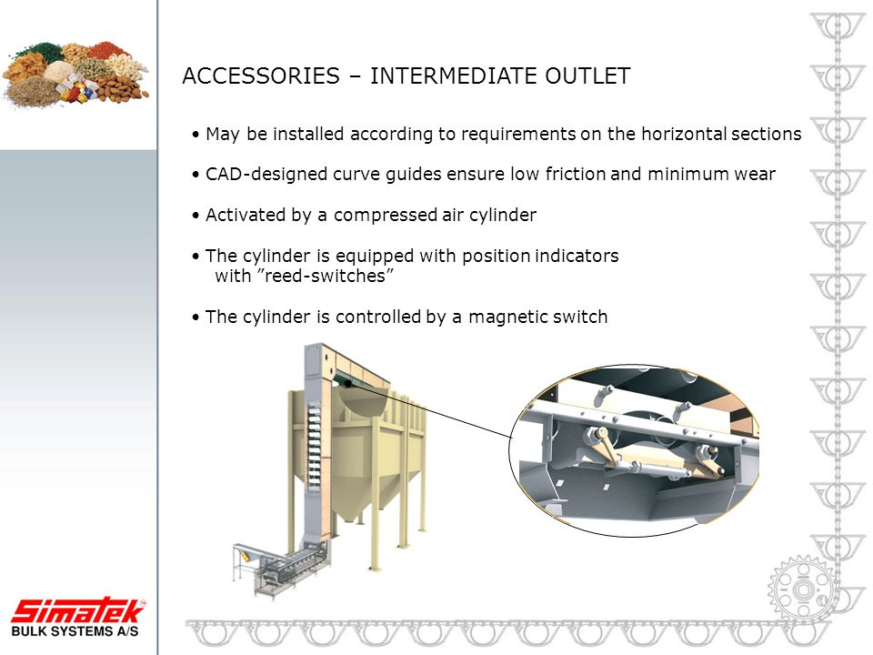 ACCESSORIES – INTERMEDIATE OUTLET
