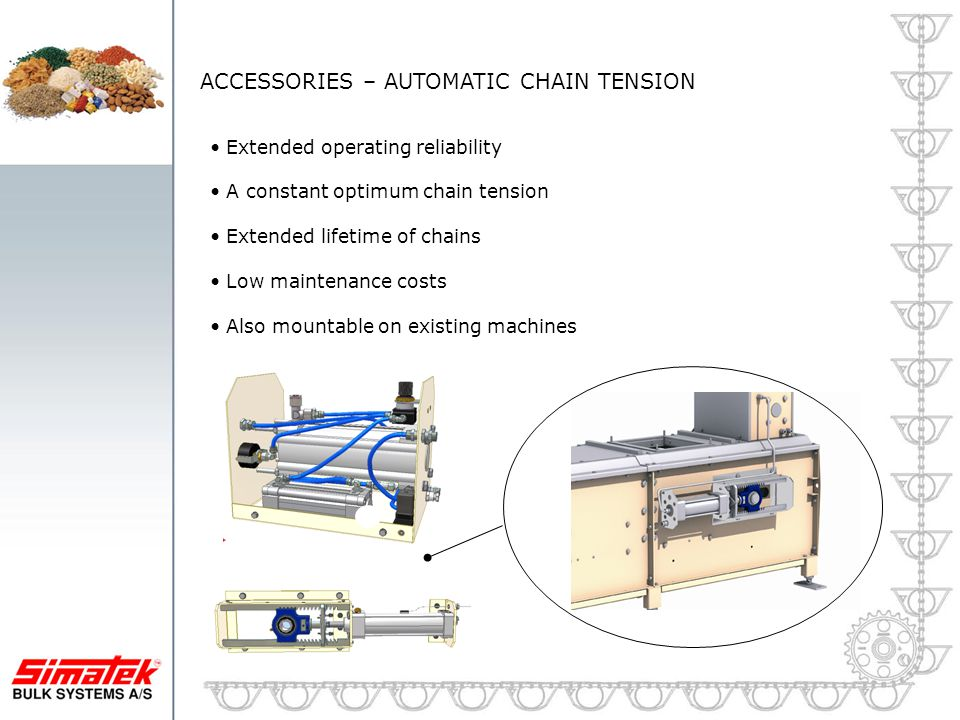 ACCESSORIES – AUTOMATIC CHAIN TENSION