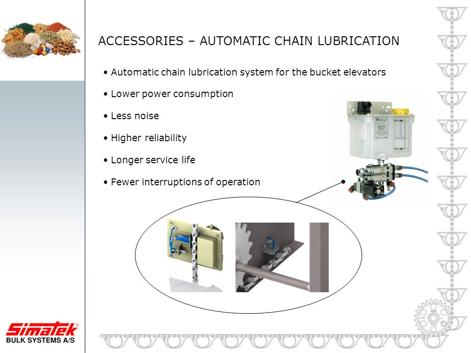 ACCESSORIES – AUTOMATIC CHAIN LUBRICATION