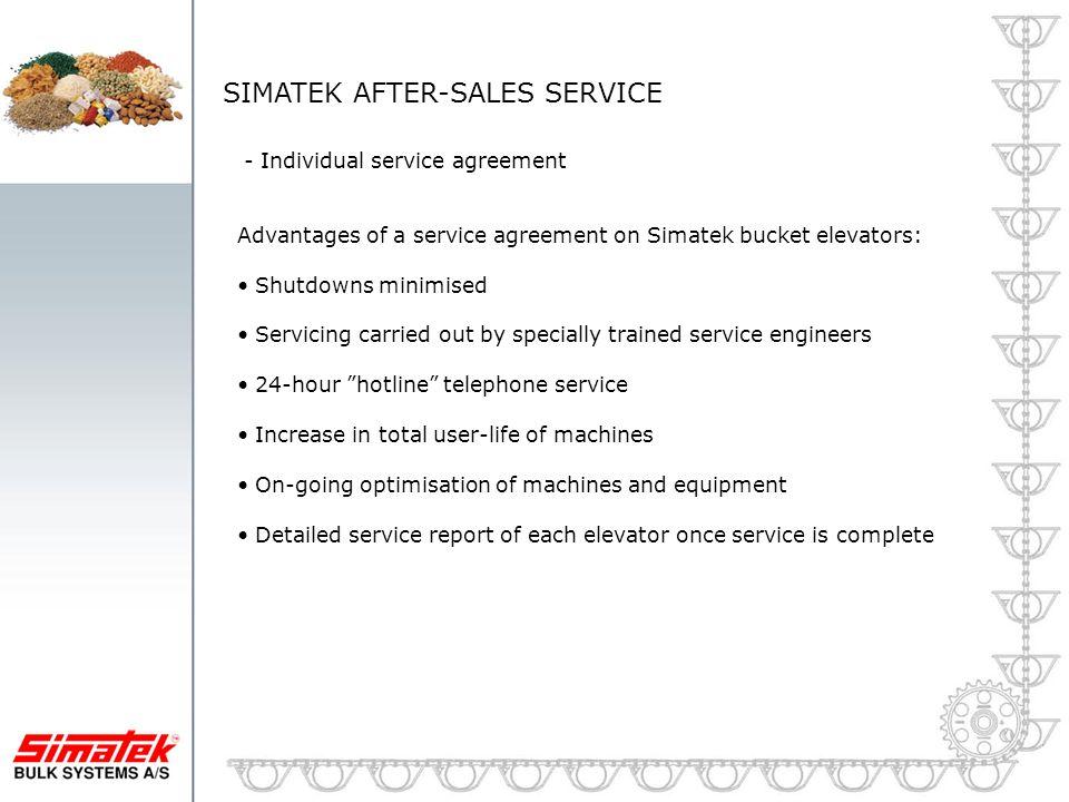 SIMATEK AFTER-SALES SERVICE