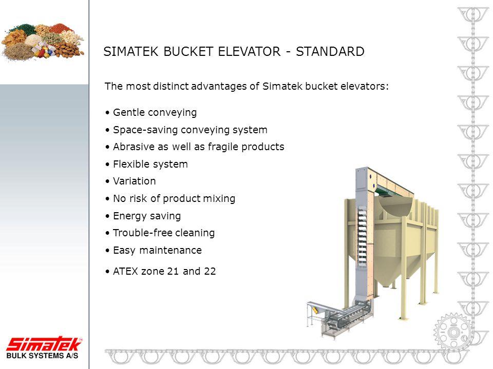 SIMATEK BUCKET ELEVATOR - STANDARD