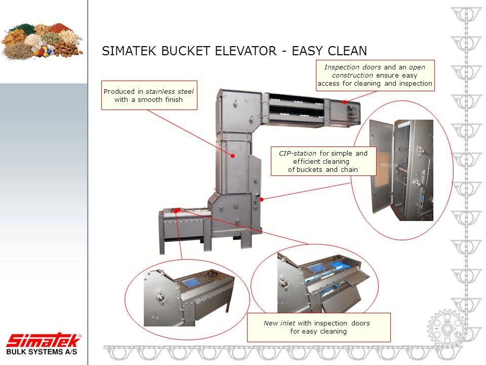 SIMATEK BUCKET ELEVATOR - EASY CLEAN