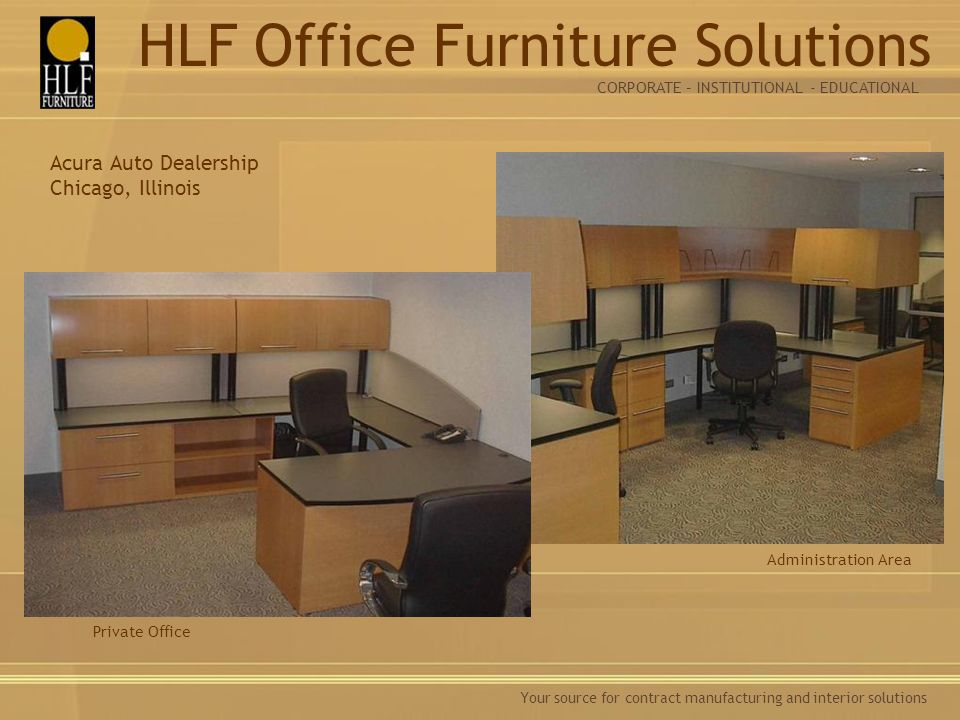 HLF Office Furniture Solutions