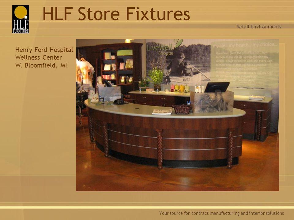 HLF Store Fixtures Henry Ford Hospital Wellness Center