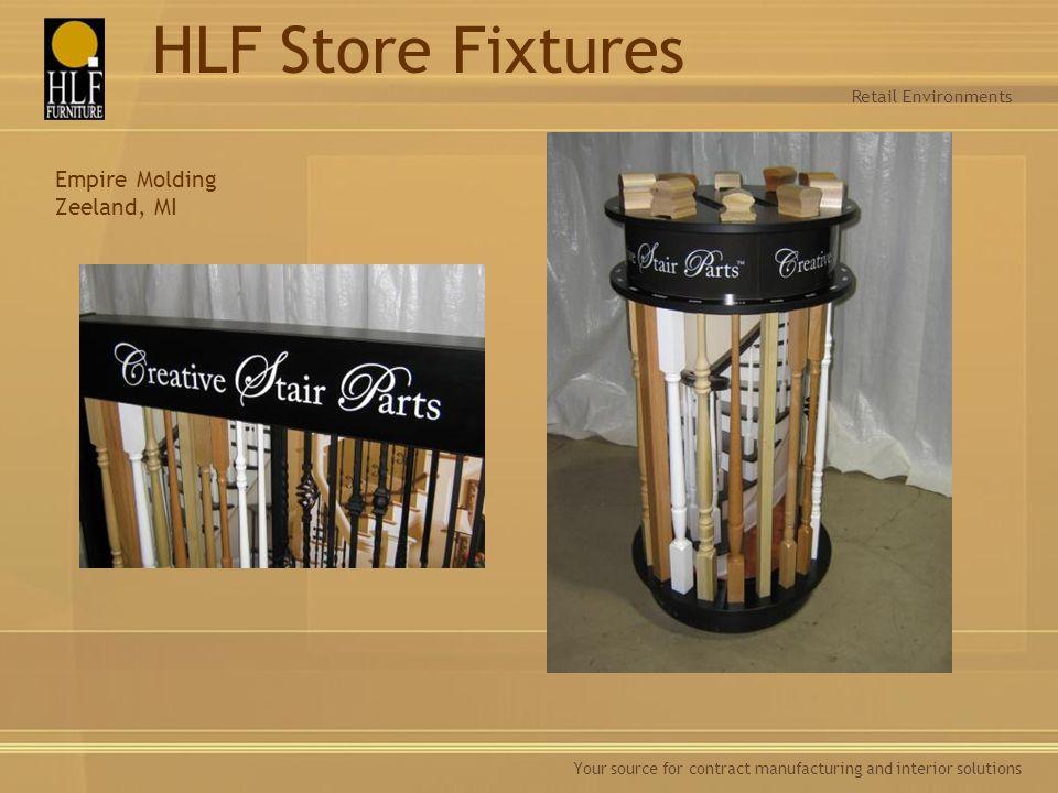 HLF Store Fixtures Empire Molding Zeeland, MI