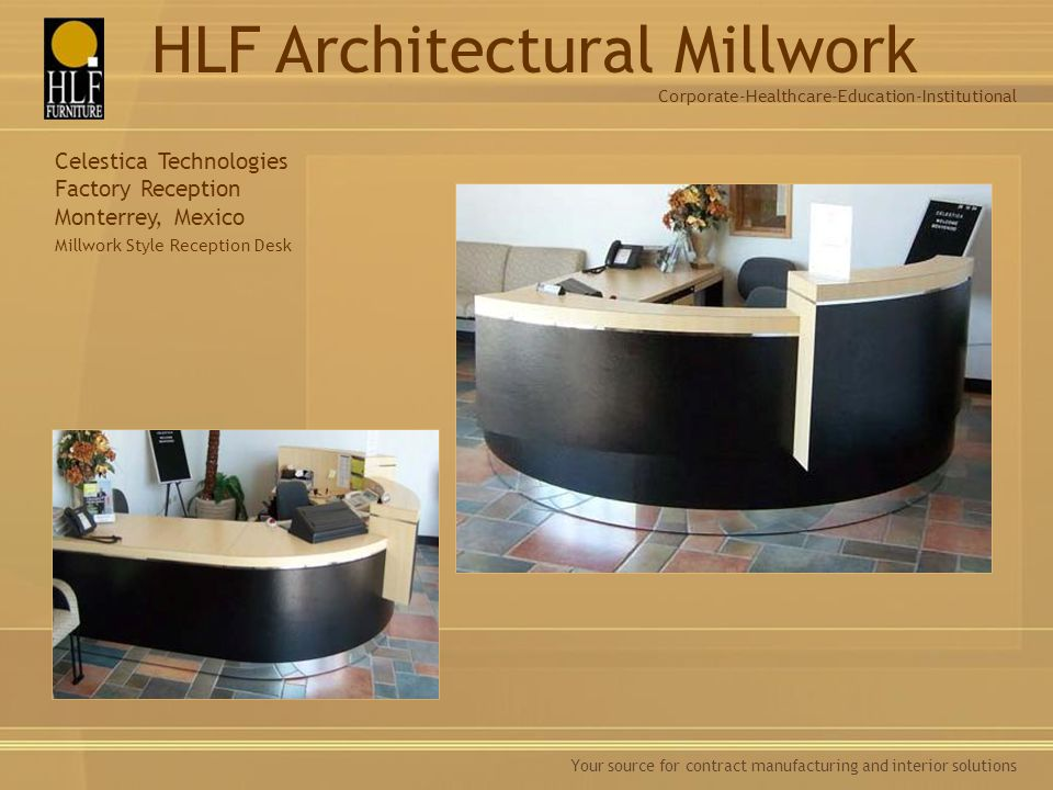 Healthcare Furniture Manufacturers Style Awesome Architectural Millwork  Ppt Download Decorating Inspiration