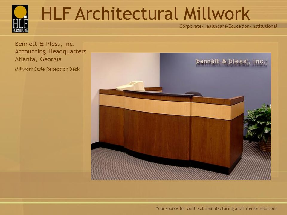 Healthcare Furniture Manufacturers Style Classy Architectural Millwork  Ppt Download Design Inspiration