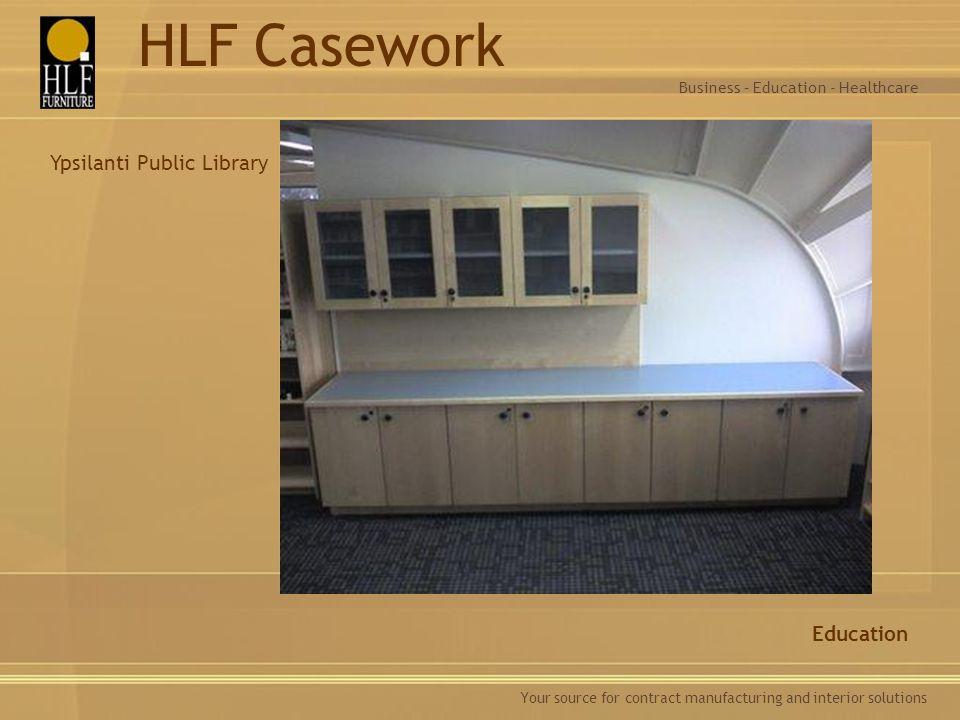 HLF Casework Ypsilanti Public Library Education