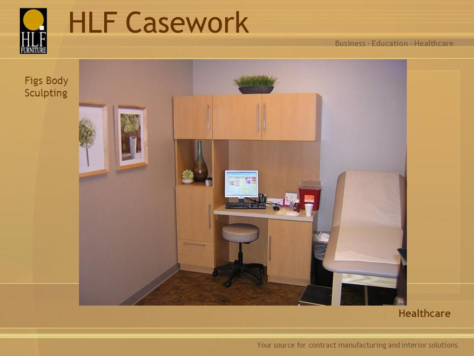 HLF Casework Figs Body Sculpting Healthcare