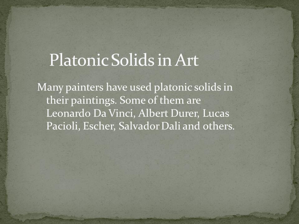 Platonic Solids in Art
