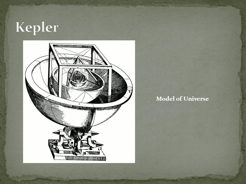 Kepler Model of Universe