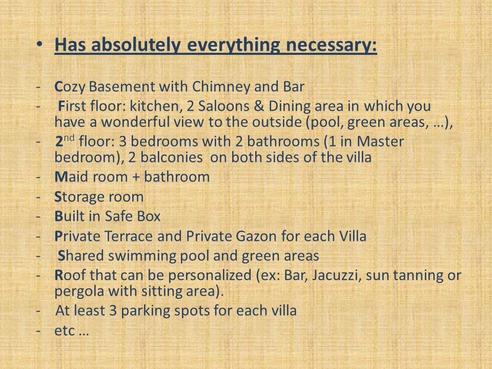Has absolutely everything necessary: