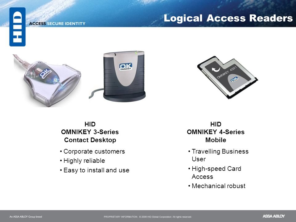 Logical Access Readers