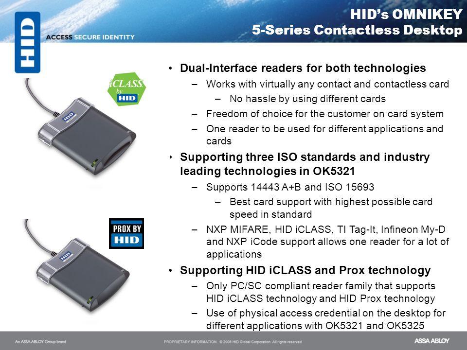 HID's OMNIKEY 5-Series Contactless Desktop