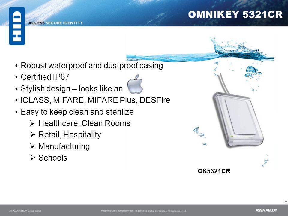 OMNIKEY 5321CR OK5321CR Robust waterproof and dustproof casing