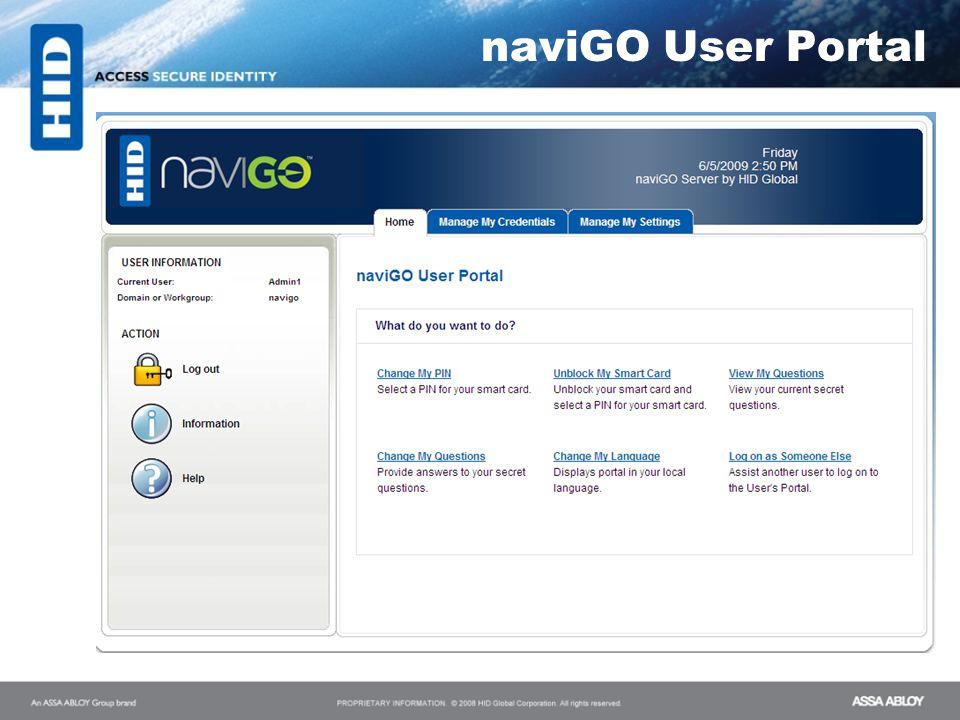 naviGO User Portal