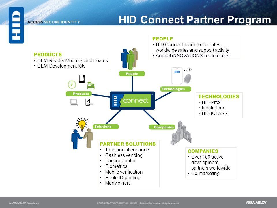 HID Connect Partner Program