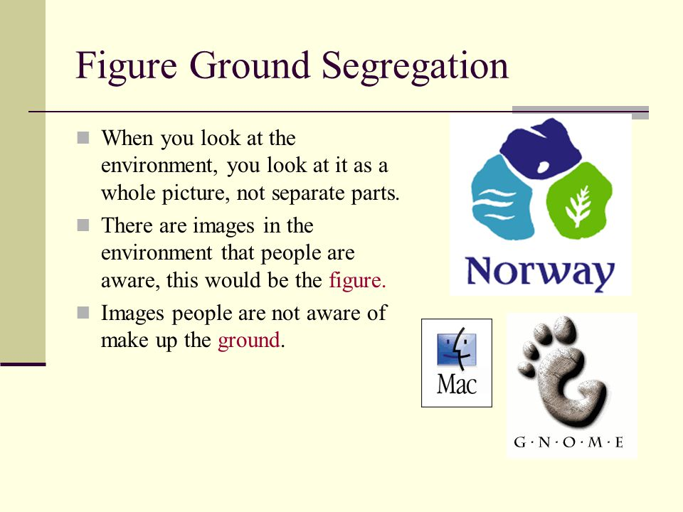 Figure Ground Segregation