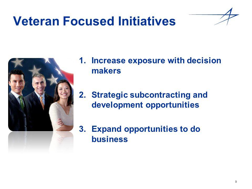 Veteran Focused Initiatives