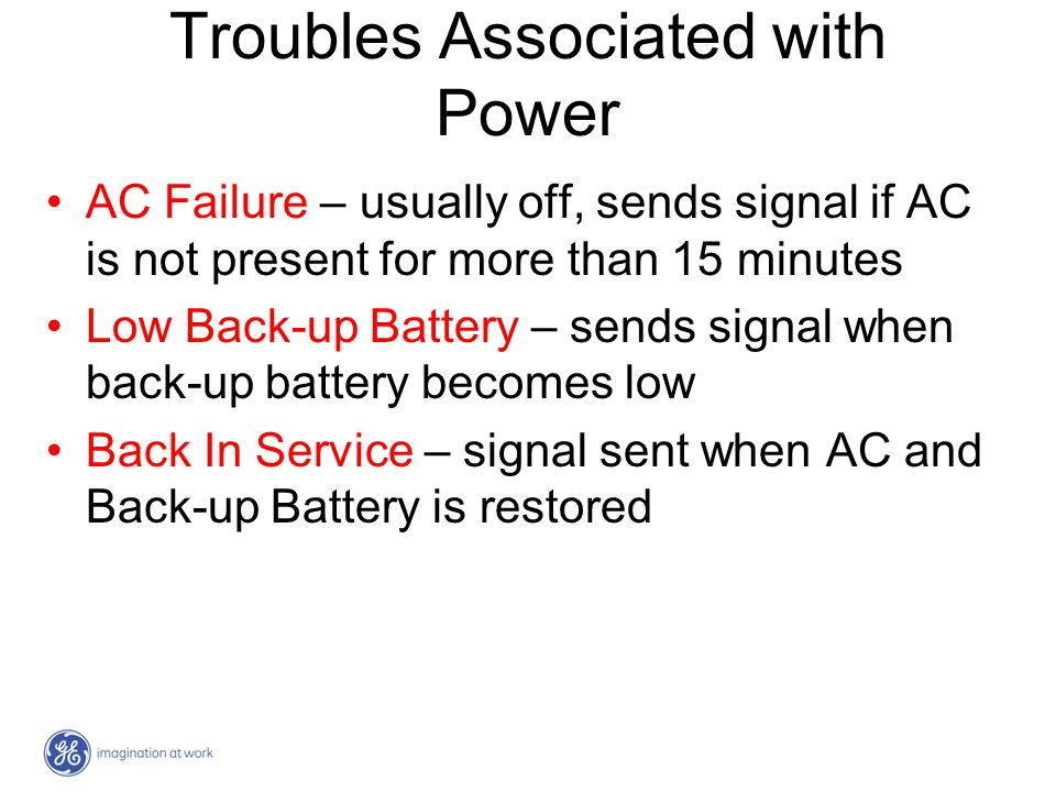 Troubles Associated with Power