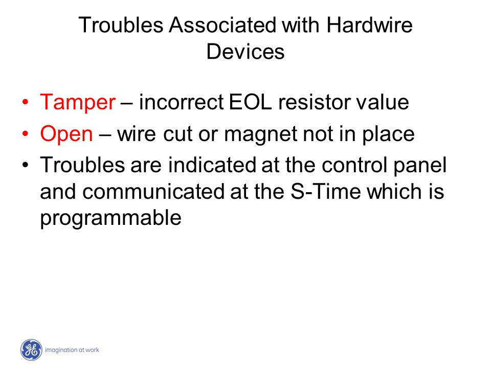 Troubles Associated with Hardwire Devices