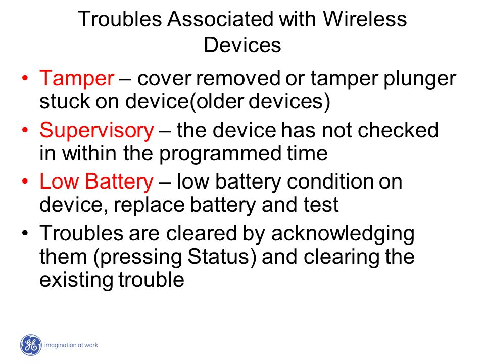 Troubles Associated with Wireless Devices