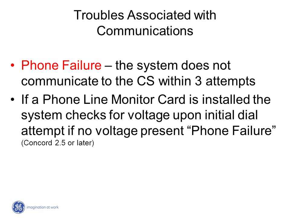 Troubles Associated with Communications
