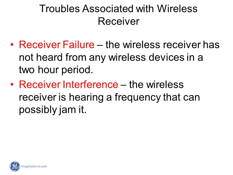 Troubles Associated with Wireless Receiver