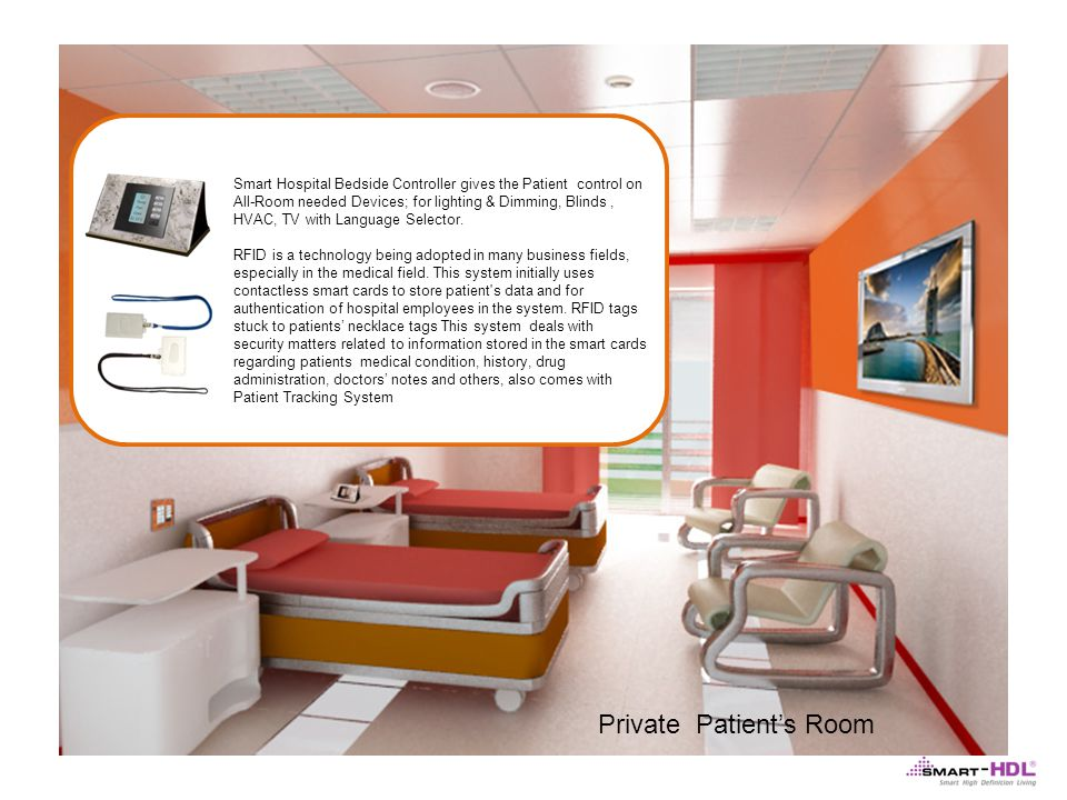 Private Patient's Room
