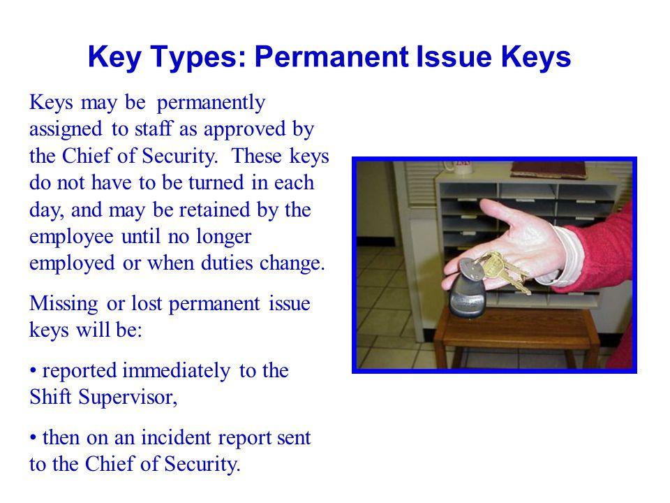 Key Types: Permanent Issue Keys